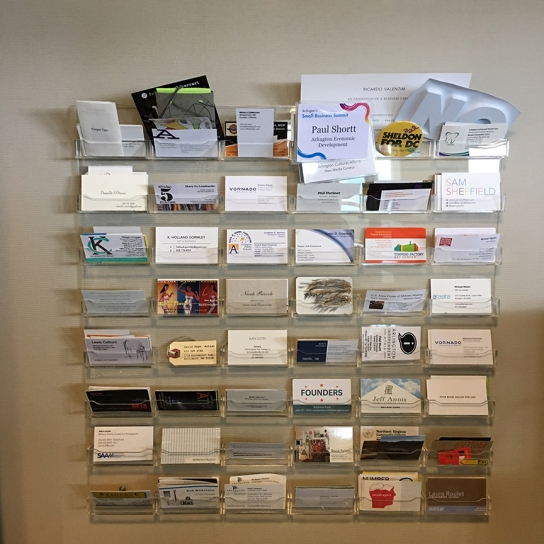 Arlington Office Business Card Collection
