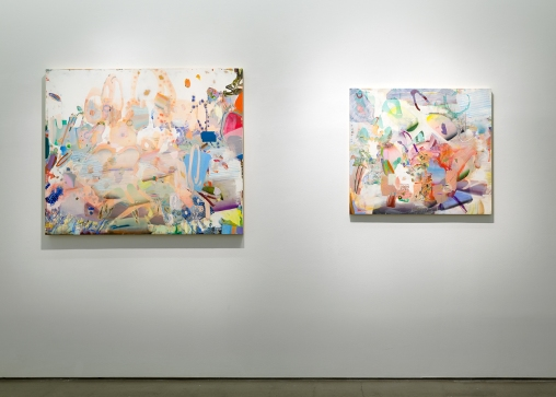 Carolyn Case's paintings at Asya Geisberg Gallery